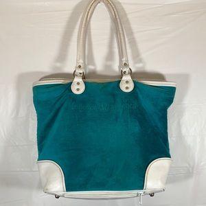 Lululemon Blue & White Bag